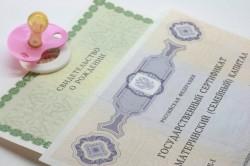 Выдача сертификата на материнский капитал в Пенсионном фонде