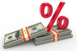 Высокий процент кредита