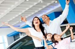 Выдача автомобиля многодетной семье