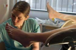 Осмотр у гинеколога для постановки на учет
