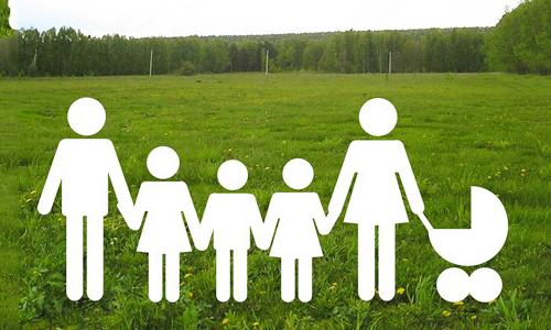 Земля для многодетной семьи