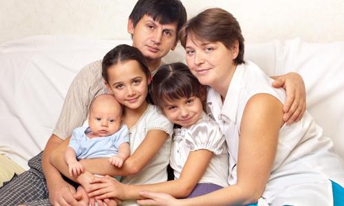 Третий ребенок в семье